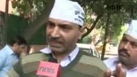 News video: AAPS LEADER ASHWINI UPADHYAY CALLS KEJRIWAL  A LIAR