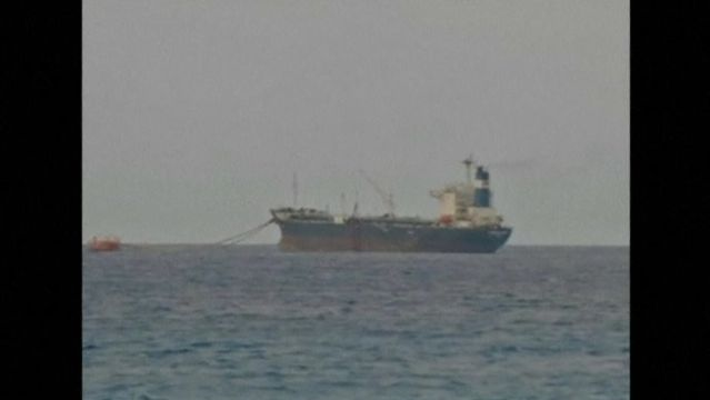 News video: Libya threatens to bomb North Korean tanker if it ships oil from rebel port