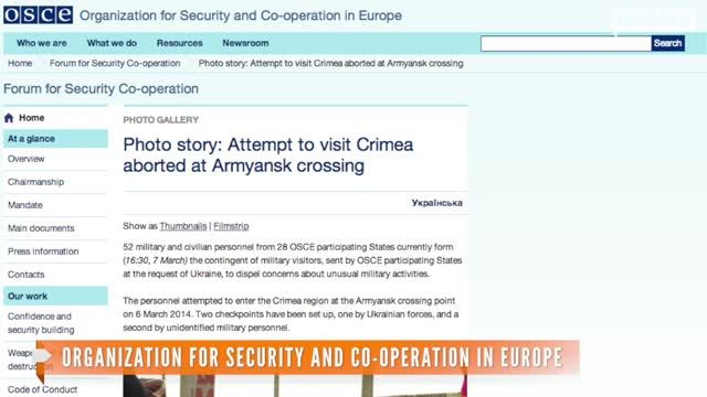 News video: Warning Shots Fired In Crimea As Observers Turned Away