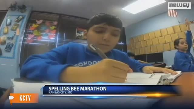 News video: Marathon Spelling Bee Finally Sees A Winner After 76 Rounds