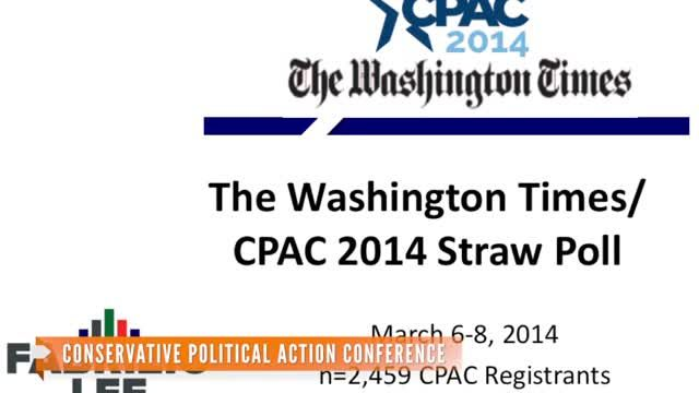 News video: Rand Paul Wins CPAC Straw Poll For 2016 Candidate