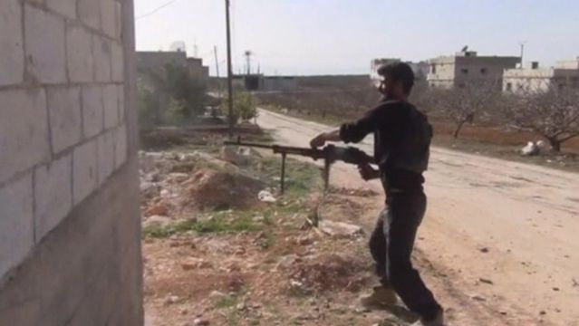News video: Heavy fighting for Syrian town of Morek
