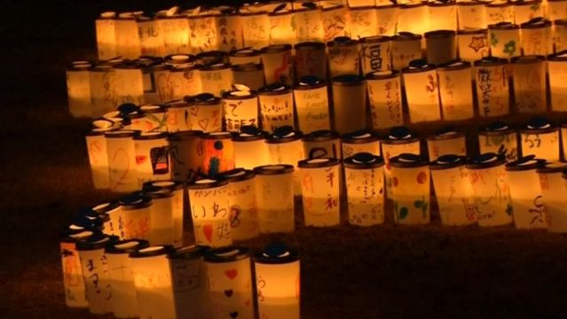 News video: Candelight vigil and protest ahead of Fukushima three-year anniversary