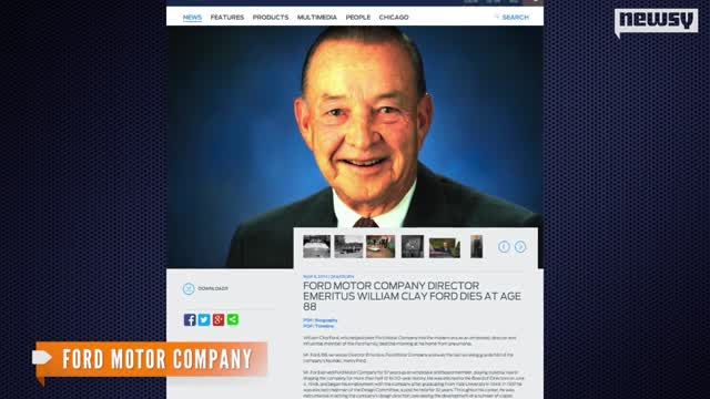 News video: William Ford Sr., Lions Owner And Auto Exec, Dead At 88