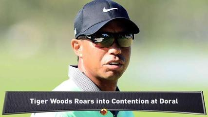 News video: Tiger Roars into Contention at Doral