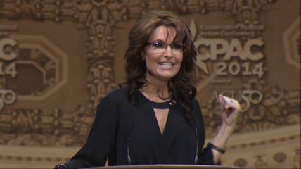 News video: Palin Targets Female Voters in CPAC Speech
