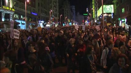 News video: Spanish protests against abortion law changes