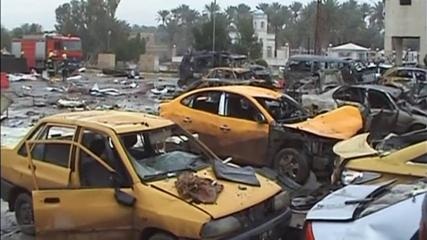 News video: Suicide bomber kills 32 in car blast in Iraq
