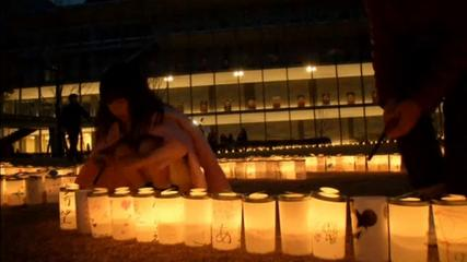 News video: Thousands of candles mark three years since Japan tsunami